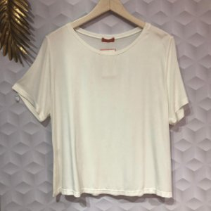 Camiseta Casual de Viscose