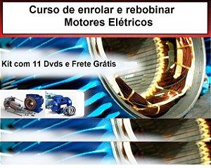 Curso de Enrolar e Rebobinar Motores Elétricos em Geral, Oferta Exclusiva.
