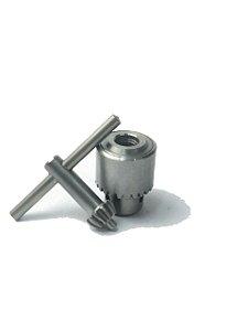 Mandril Aço Inox Goldy 6 J1 C/ Chave