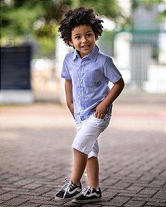 Conjunto Camisa com Bolso Opera Kids