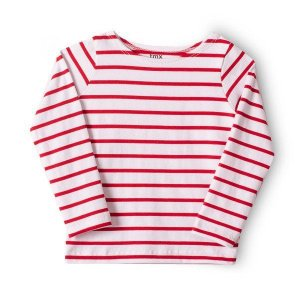 Blusa Primeiros Passos Feminino Cotton Listrada TMX