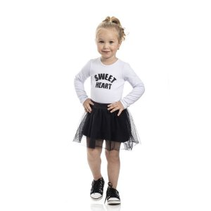 Blusa Infantil Feminino Cotton Sweet Heart TMX