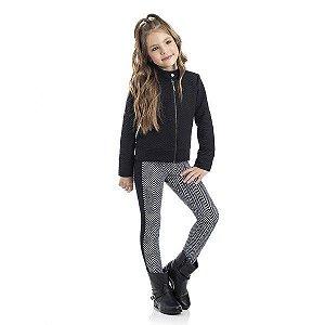 Legging Infantil Feminino Molecotton Estampado TMX