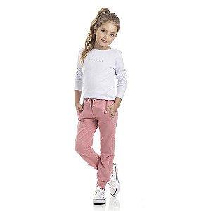 Calça Infantil Feminino Jogger TMX