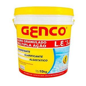 Genco L.e Cloro Granulado Múltipla Ação 3em1 10kg Promoção
