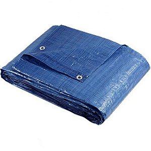 Lona Encerado De Polietileno Azul 10x8 M Brasfort