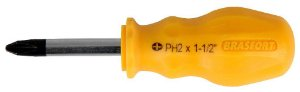 Chave Phillips Magnetic 1/4 X 1.1/2 Aço Cr-v - Brasfort 7277