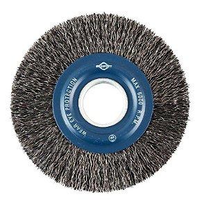 Escovas De Aço Escova De Aço Circular 6 X 3/4 A/c Brasfort