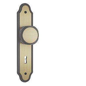 Fechadura Interna Stam 813/02 Oxidada Bola 40mm Bronze