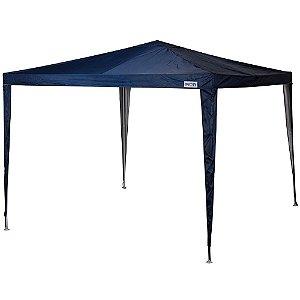 Tenda Gazebo Rafia 3x3mts Azul Ref 3538