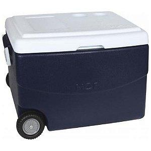 Caixa Térmica 70lts Cooler Com Alça E Porta Copos Mor