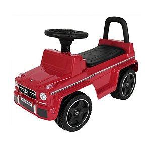Carrinho Andador Mercedes-benz Bel Lazer 934504 Vermelho