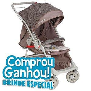 Carrinho Bebê Galzerano Optimus Cappuccino 1410cap