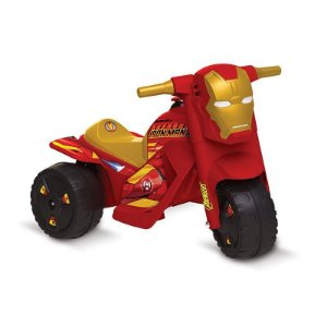 Moto Elétrica 6v Marvel Iron Man Bandeirante 3002