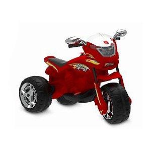 Moto Elétrica Infantil Super Moto Gp Grafite 6v Bandeirante