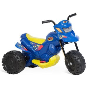 Moto Elétrica Bandeirante Xt3 6v 2700 Azul