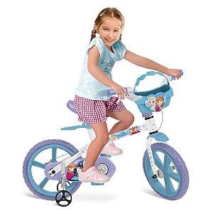 Bicicleta Aro 14 Frozen Disney 2498