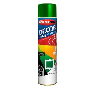 Tinta Spray Decor Verde 350ml - Colorgin