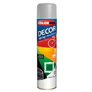 Tinta Spray Decor Grafite 350ml - Colorgin