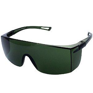 Óculos De Proteção Sky Delta Plus Ou Pro Safaty Verde