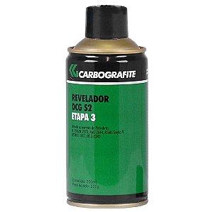 Spray Revelador Para Trincas Dcg S2 Carbografite - Etapa 3