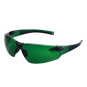 Oculos De Segurança Cayman Sport Verde Carbografite