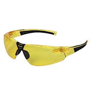 Oculos De Segurança Cayman Anti Embaçante Amarelo Carbografi