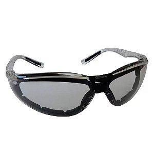 Oculos De Segurança Cayman F Incolor Carbografite