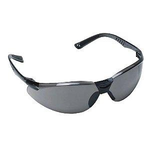 Oculos De Segurança Cayman Anti Embaçante Cinza Carbografite