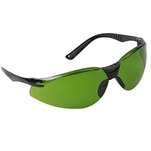 Oculos De Segurança Cayman Verde Carbografite