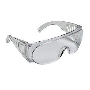 Óculos Segurança Epi Pro Vision Anti Riscos Incolor Carbogra