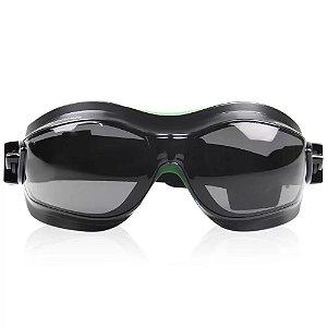 Oculos De Segurança Spyder Cinza Carbografite