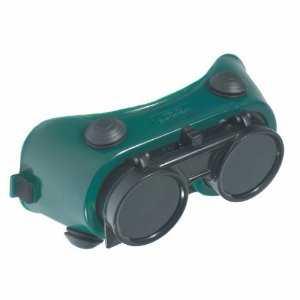 Óculos De Solda Cg250 Carbografite Redondo Visor Fixo Epi