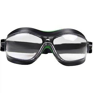 Oculos De Segurança Helix Incolor Carbografite