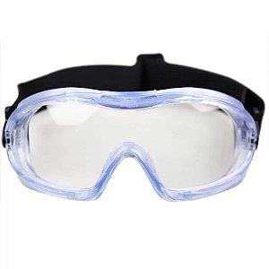 Óculos Segurança Ampla Visão Incolor Mini Carbografite
