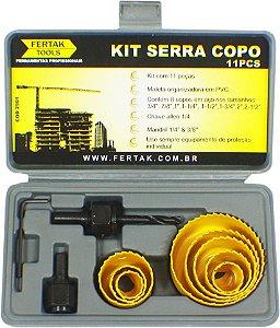SERRA COPO JOGO FERTAK AC 19 A 64 MM - 11 PCS - 2901