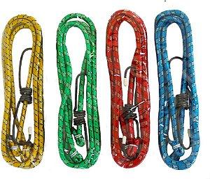 Corda Elástica estique 4 peças Fertak 1,20m x 8mm