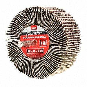 Roda Para Polimento - Pg Lixa (flap) Mini Mtx Grão 60 /60x30