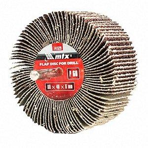 Roda Para Polimento - Pg Lixa (flap) Mini Mtx Grão 80 /60x30
