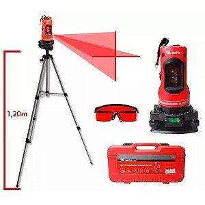 Nivel Laser Horizontal Vertical Tripe + Maleta + Oculos Mtx