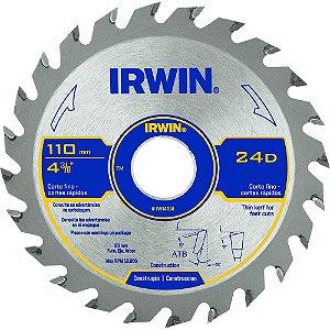 Disco Serra Circular Por 4.3/8 X 24 D X 20 Mm His235 Irwin