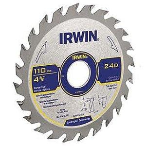 Disco Serra Circular Máquinas 7.1/4 Pol 36d 20mm Irwin014108