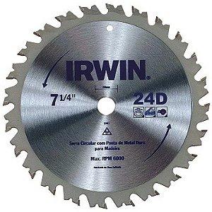 Disco Serra Circular Por 7.1/4 X 24 D X 20 Mm His1902b Irwin