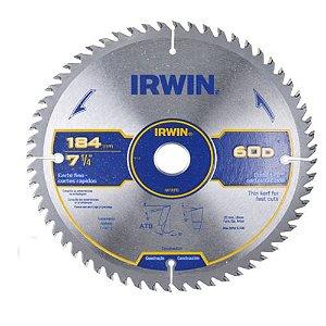 Disco Serra Circular Por 7.1/4 X 60 D X 20 Mm His1904b Irwin