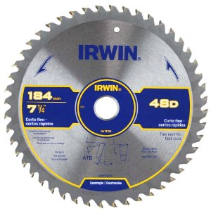 Disco Serra Circular Por 9.1/4 X 48 D X 25 Mm His1905b Irwin