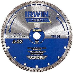 Disco Diamantado Turbo De 230mm X 22,2mm Irwin-8952