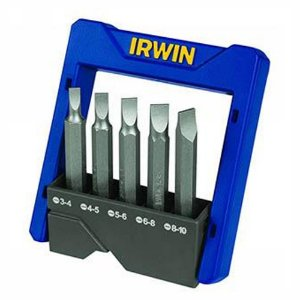 CONJUNTO POWER BIT IRWIN FENDA 5 PCS - (3,4 A 8,10)