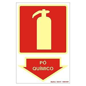 Placa Fotoluminescente 20 X 30 Po Quimico