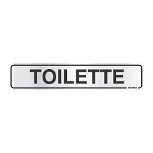 Placa Em Aluminio 5 X 25 Toilette