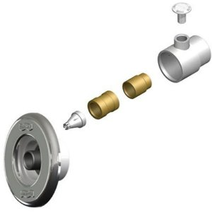 Disp. De Hidromassagem Abs/inox Pratic 1.1/2 Tubo De 60mm